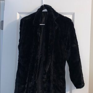 Pretty Little Thing Fur Coat